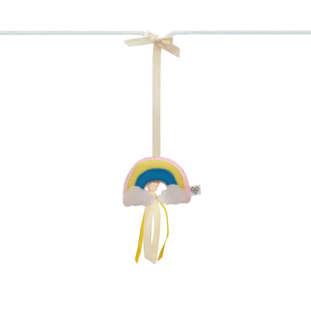 Heartfelt Dingle Dangle - Rainbow