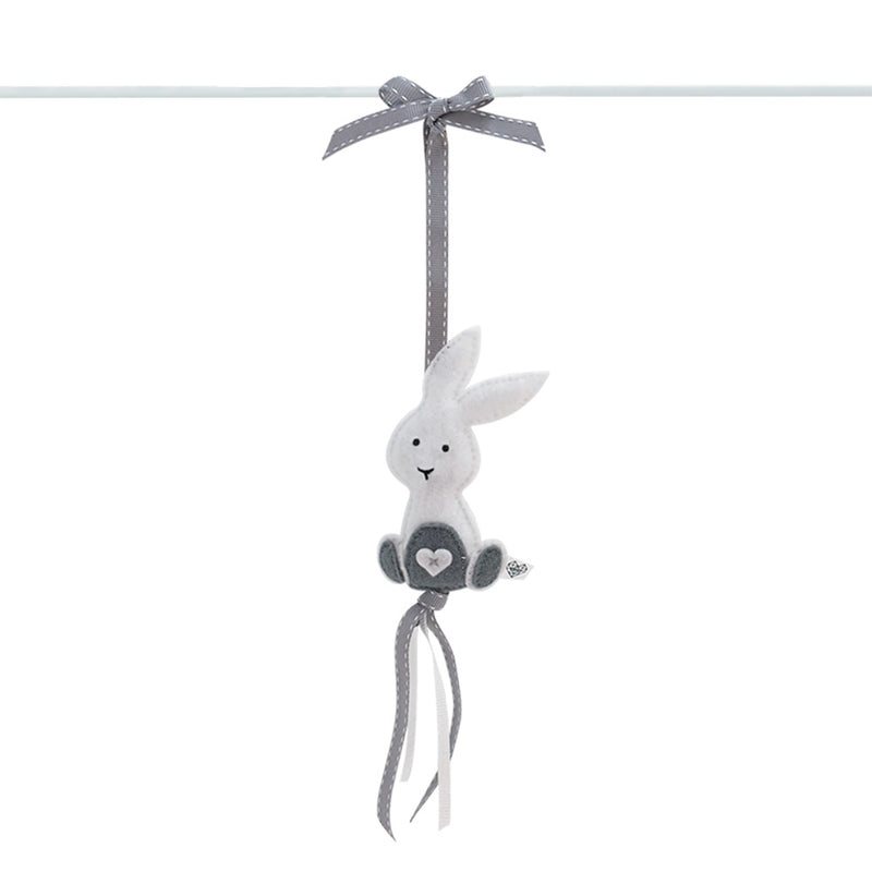 Heartfelt Dingle Dangle - Bunny (White)