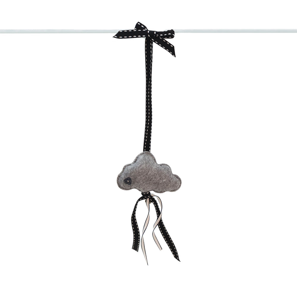 Heartfelt Dingle Dangle - Cloud (Grey)