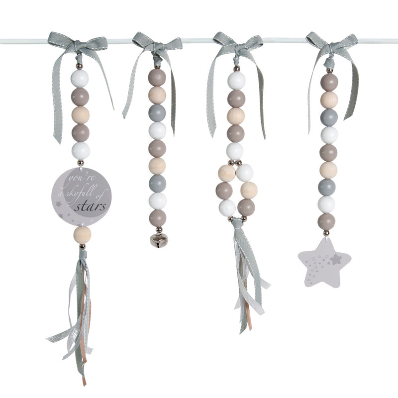 Ruby Melon Natural Dingle Dangle Set Star
