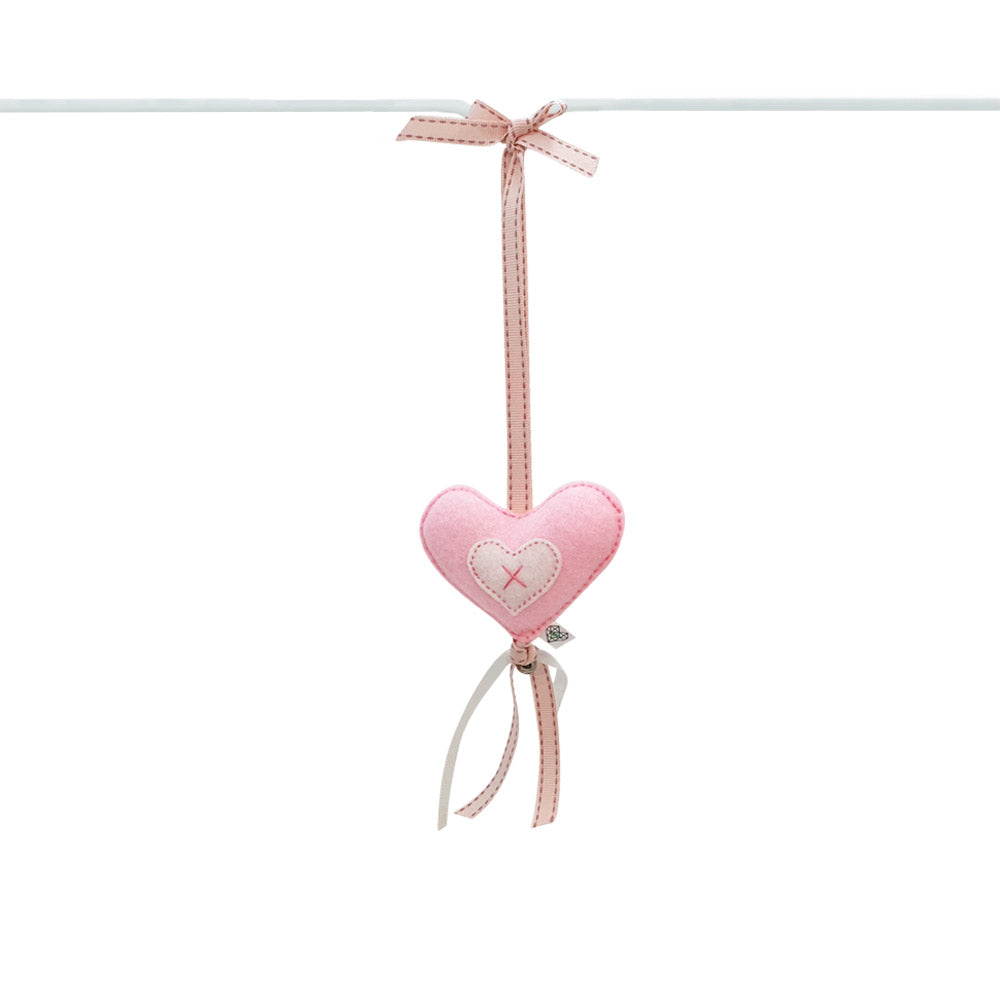 Heartfelt Dingle Dangle - Heart (Pink)