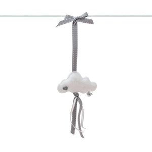 Heartfelt Dingle Dangle - Cloud (White)