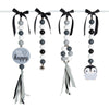 Natural Dingle Dangle Set - Happy Penguin