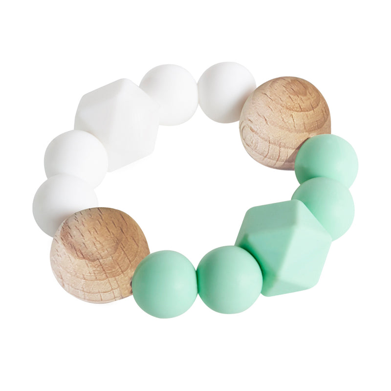 Textured Teether - Mint Contrast