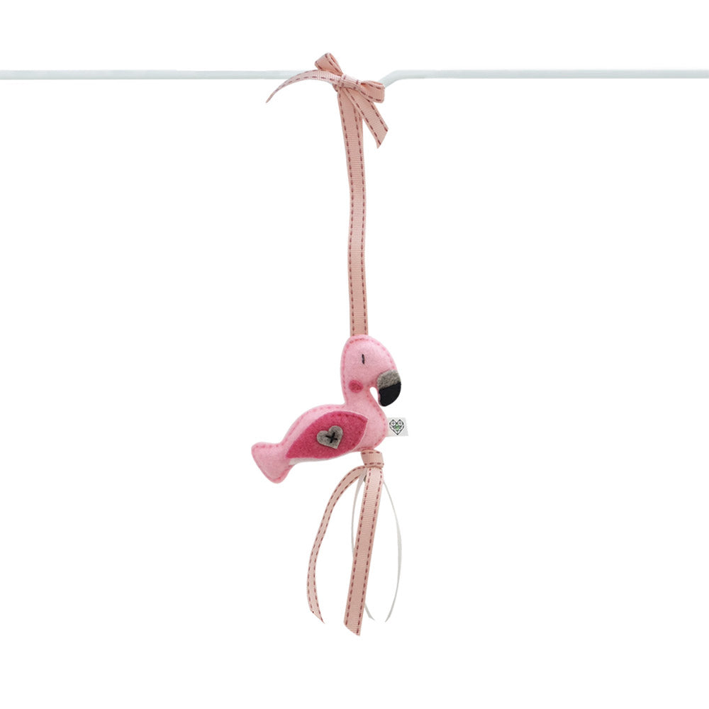 Heartfelt Dingle Dangle - Flamingo