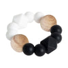 Textured Teether - Black Contrast