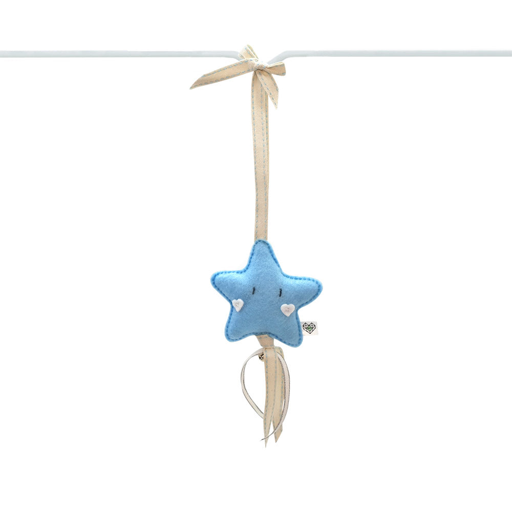 Heartfelt Dingle Dangle - Star (Blue)