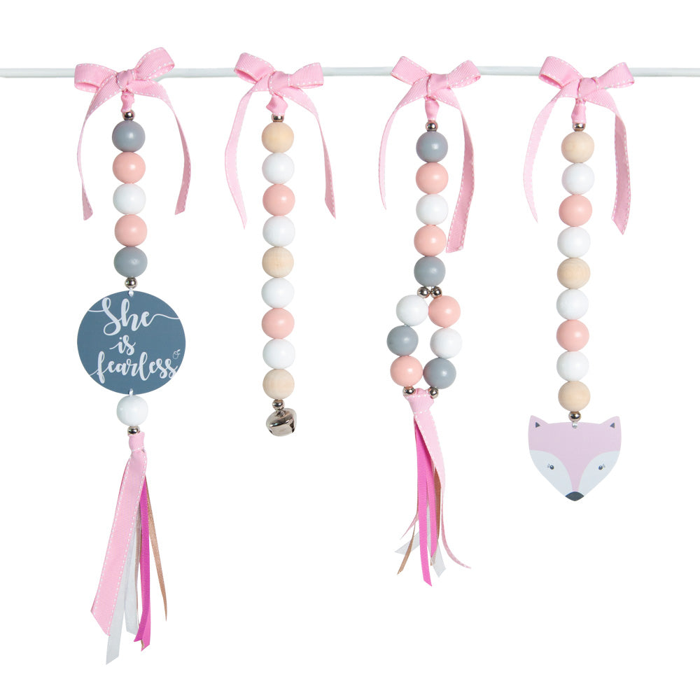 Natural Dingle Dangle Set - Candy Fox
