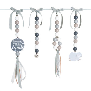 Natural Dingle Dangle Set - Little Lamb