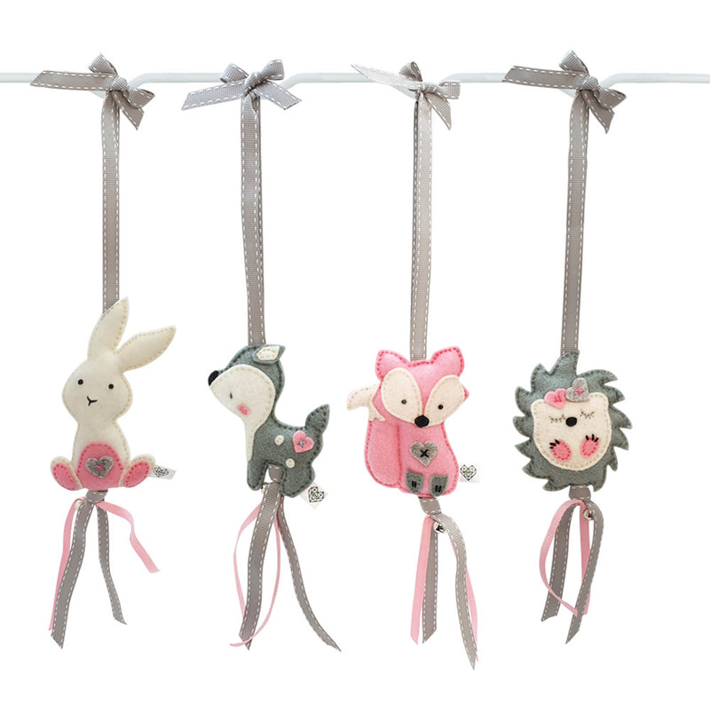 Ruby Melon Heartfelt Dingle Dangle Set