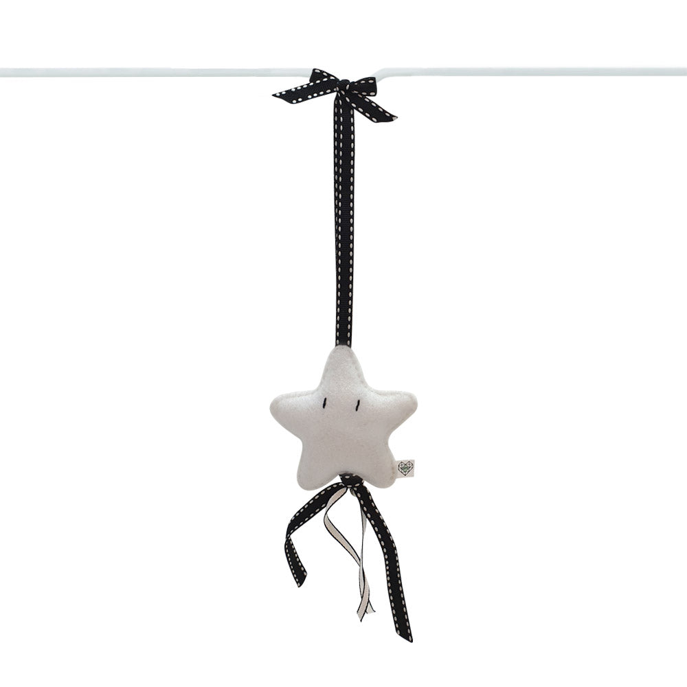 Heartfelt Dingle Dangle - Star (White)