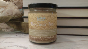 Too Clever Fox | King of Scars | 9 oz Jar Soy Candle