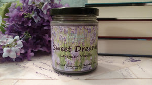 Sweet Dreams | The Bookish Home | 9 oz Soy Candle