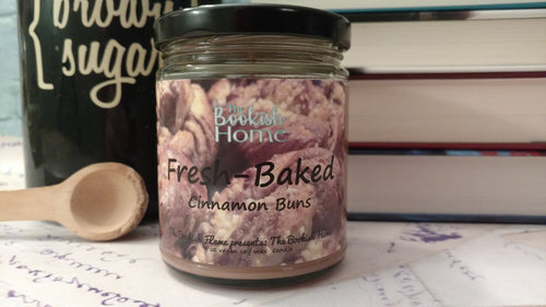 Fresh-Baked | The Booksih Home | 9 oz Soy Candle