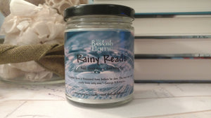 Rainy Reads 9 oz Soy Candle