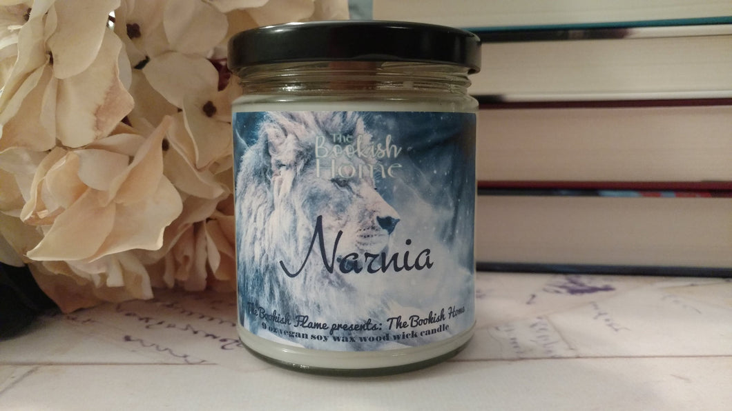Narnia | 9 oz Jar | Woodwick Soy Candle