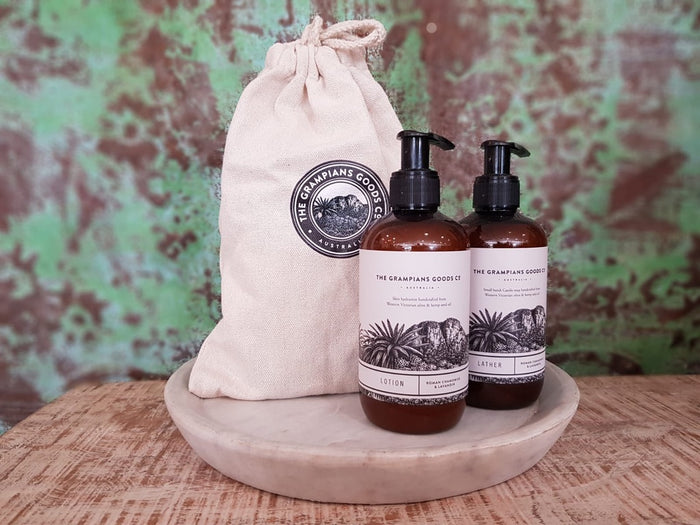 grampians grown luxe lather
