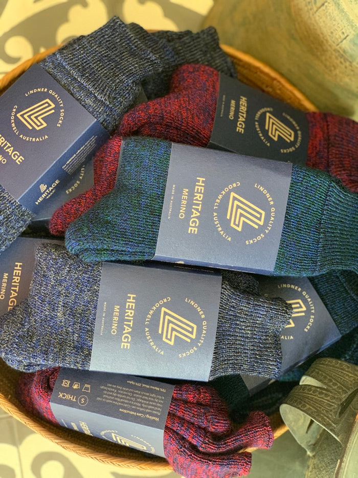 merino thick full cushioned Max socks