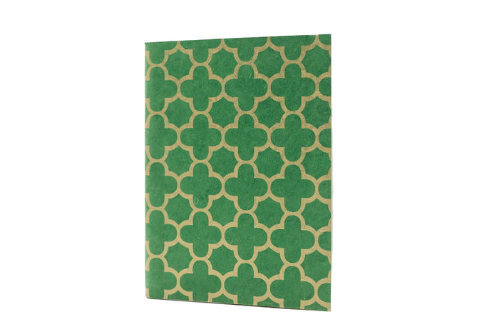 green & gold journal