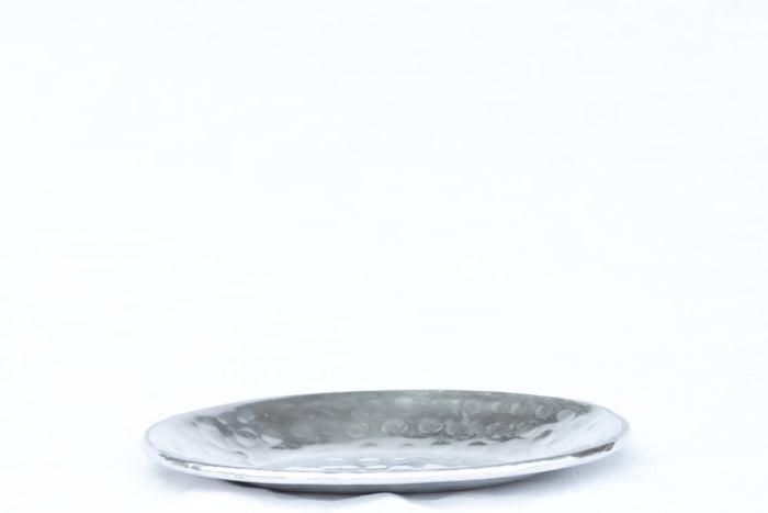 hammered metal soap dishes
