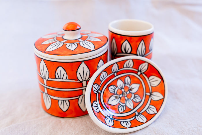 handpainted ceramic soap dishes