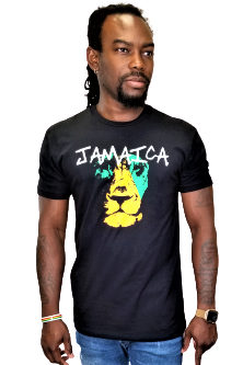 ReggaeNThings BabyLion Crew Neck T-Shirt