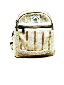 Rustic Stripe mini Backpack