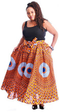 Load image into Gallery viewer, African Print Skirt