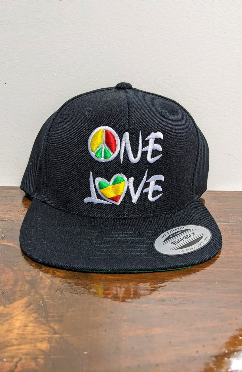 One Love Snapback Hat