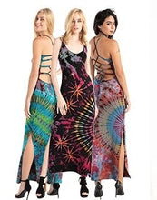 Load image into Gallery viewer, Zig tie dye maxi dress