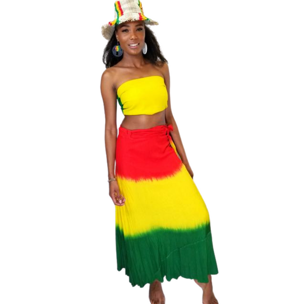 Rasta-wrap-skirt