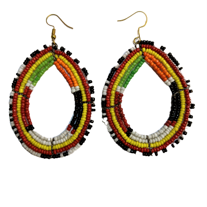 Massai Beading Earrings