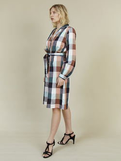 STORM & MARIE Donna Shirt Dress Shirt Dress 901 Check