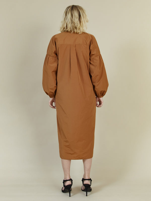 STORM & MARIE Fay Shirt Dress Shirt Dress 1009 Sienna Brown