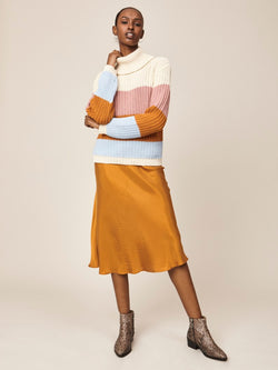 STORM & MARIE Kind Midi Skirt Skirt 531 Honey