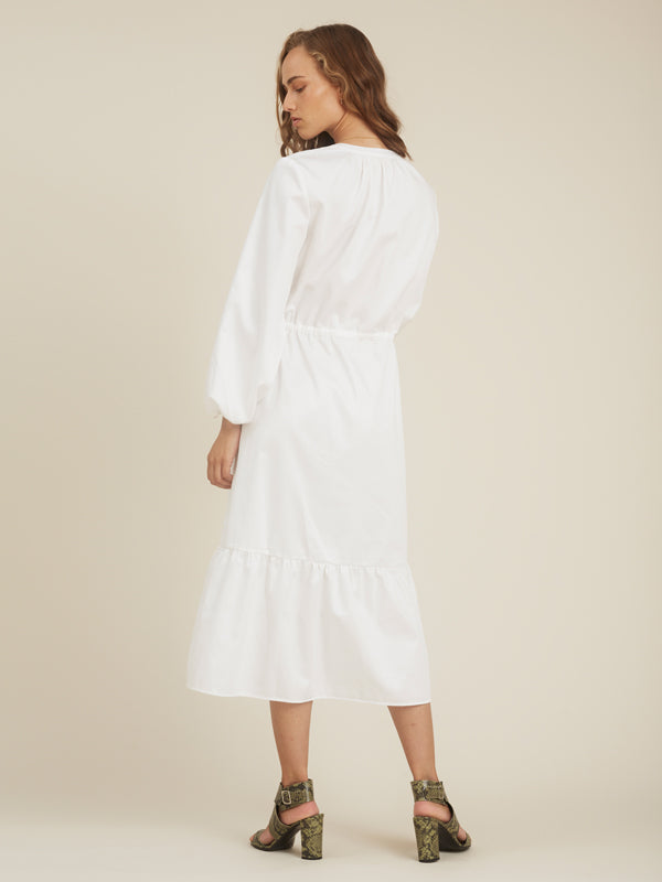 STORM & MARIE Perla Dress Dress 004 Bright White