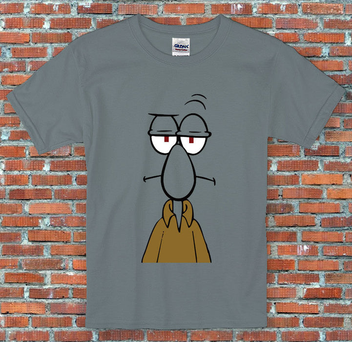 Spongebob Squidward Face Squarepants Cartoon Inspired T Shirt S - 2XL