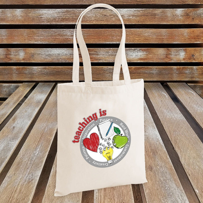 Teaching is - Inspiration, Passion, Hard Work, Commitment ... Tote bag - Gift