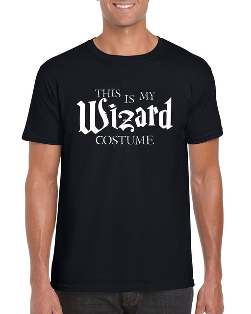""" This Is My Wizard Costume ""  Halloween  Themed Slogan T-Shirt"