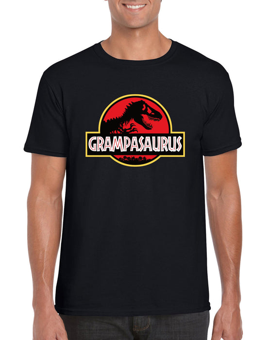 """ Grampasaurus "" Jurassic Park Style Fathers Day Dinosaur Gift Inspired T-Shirt"