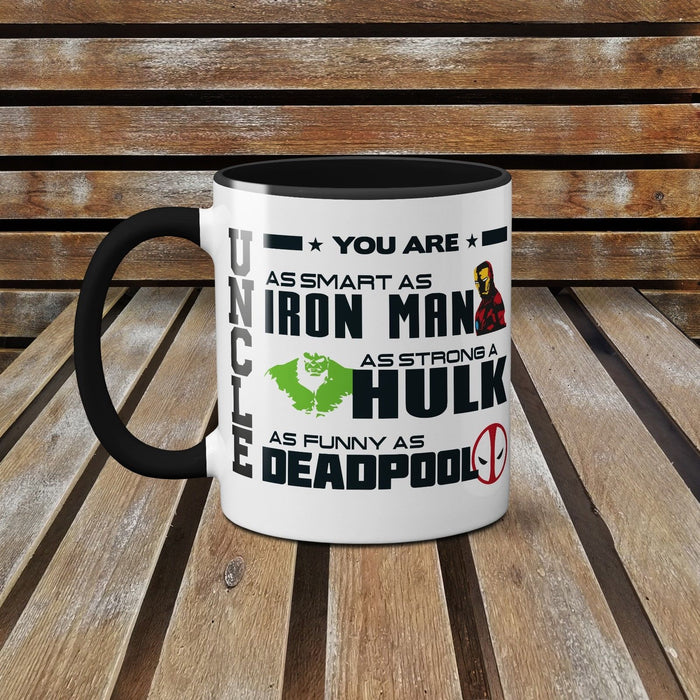 Uncle You Are My Favourite Superhero! - Father's Day Ceramic Mug Coffee Cup