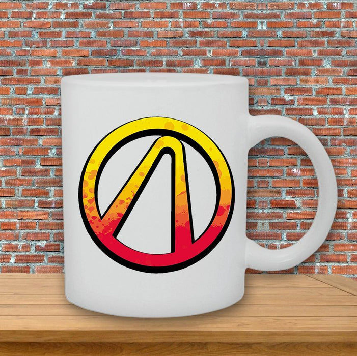 Borderlands Vault Hunter Symbol Game Inspired Ceramic Cup Mug