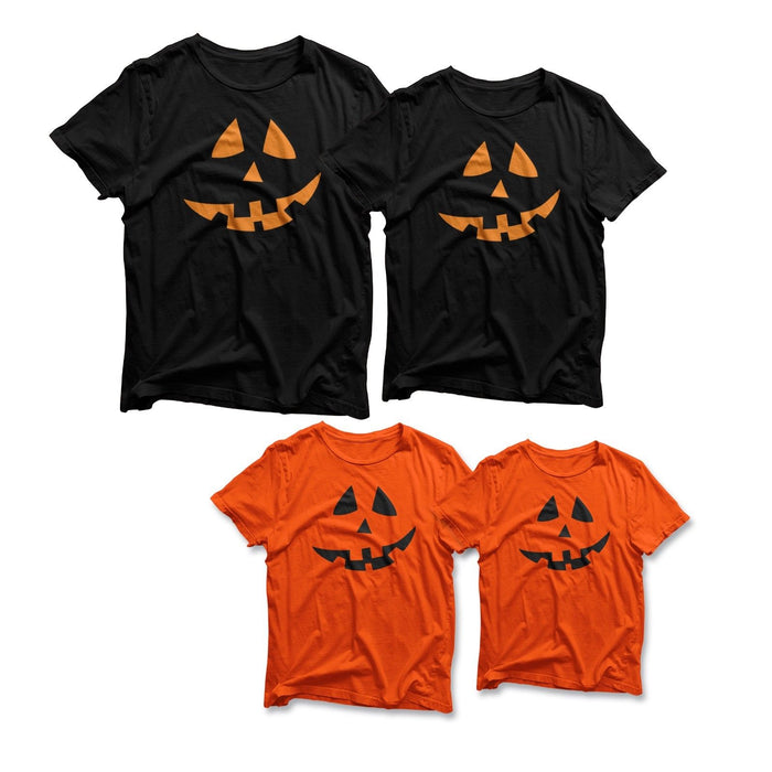 Halloween T SHIRTS Costume T-SHIRT Pumpkin cheap tee Fancy Dress MEN WOMEN KIDS