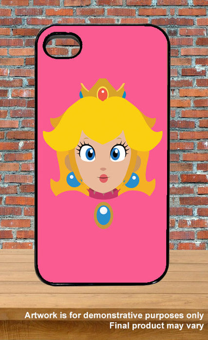 Princess Peach Face Super Mario Video Game Inspired Phone Covers iPhone 4/5/5s