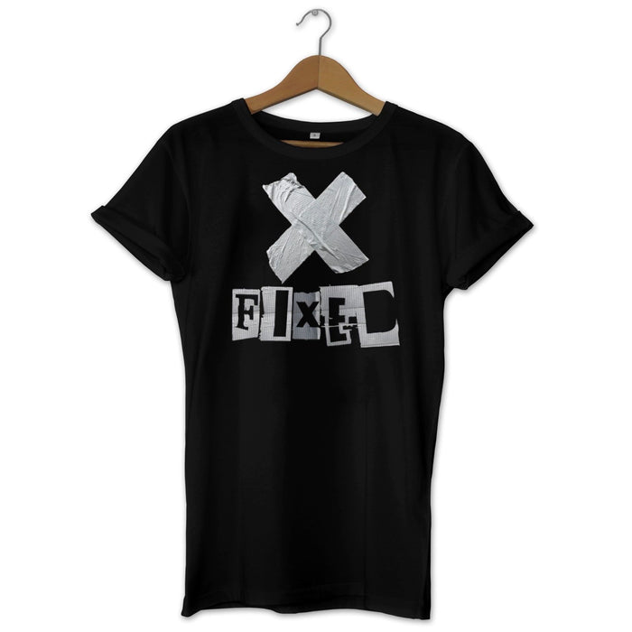 FIXED White T-Shirt -Funny/ Novelty/ Nice to Have/ Gift White and Black Variants