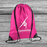 Personalised Gymnastic Girls Kid's Child's Drawstring Gym Swimming Bag Back pack