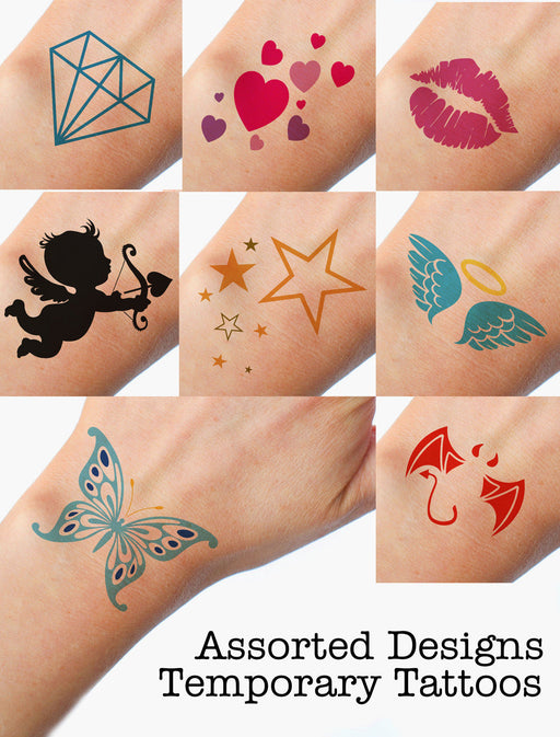 Assorted Designs Funny Premium Hen Do Temporary Tattoos Choose your Quantity