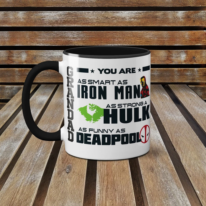 Grandad You Are My Favourite Superhero! - Father's Day Ceramic Mug Coffee Cup