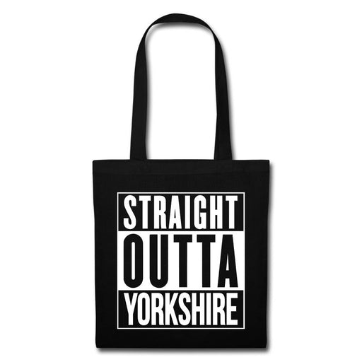Straight outta Yorkshire Funny Gift Compton Parody Tote Bag