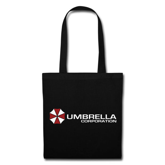 Umbrella Corporation Resident Evil Zombies Game Movie Inspired Tote Bag